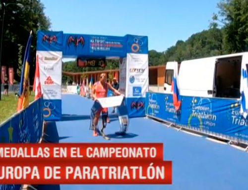 3 medallas en el Campeonato Europeo disputado en Transilvania