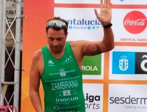 Subcampeón de España de Triatlón Paralímpico en A Coruña