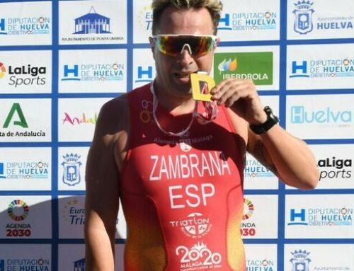 Raúl Zambrana, subcampeón de Europa en Punta Umbría